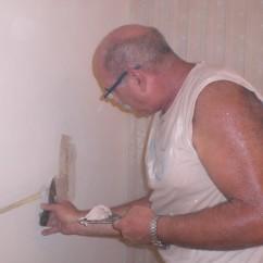 תיקוני צבע: הכנת קיר לצביעה