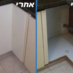 תיקון ארון מטבח: שחזור דלת