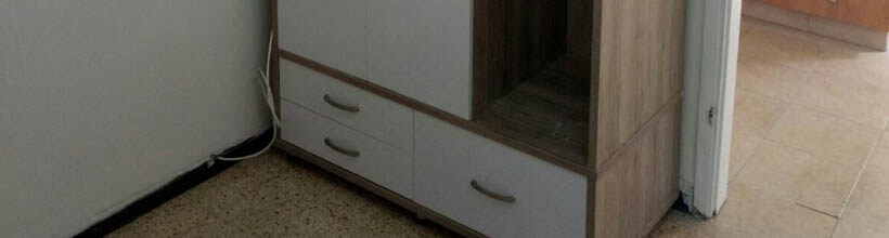תיקון ארונות בגדים ומטבח