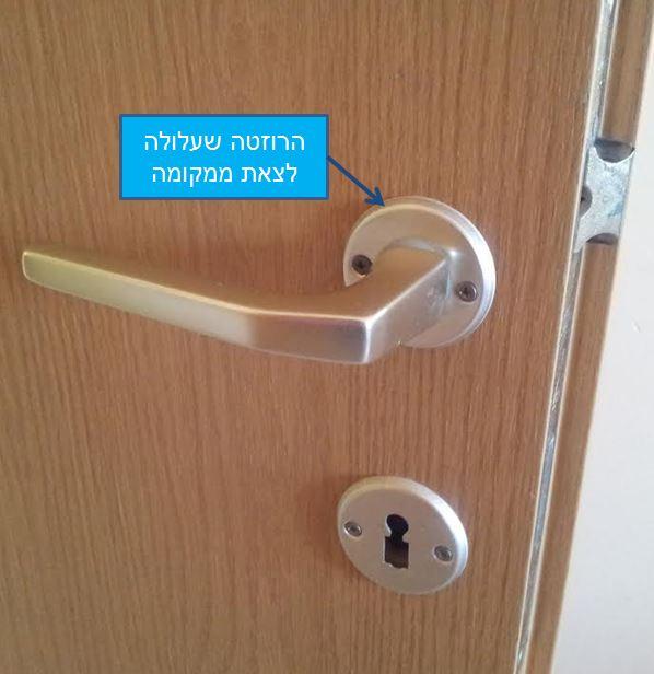הנדימנו - תיקון דלת פנים