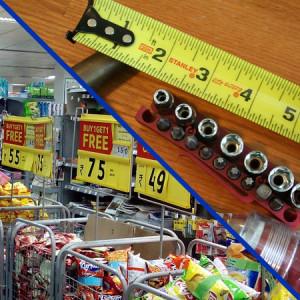 הנדימן. בניגוד לסופרמרקט, כאן אין מחירי מדף